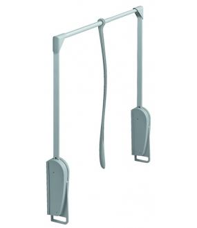 Garderobelift Neutral Grå. 8 kg. Bredde 620-950mm