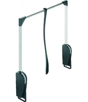 Garderobelift Neutral Sort. 8 kg. Bredde 620-950mm