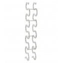 Snake Vinreol I Aluminium