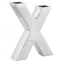 X Vase I Aluminium