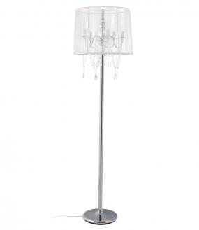 Lounge Gulvlampe Hvid