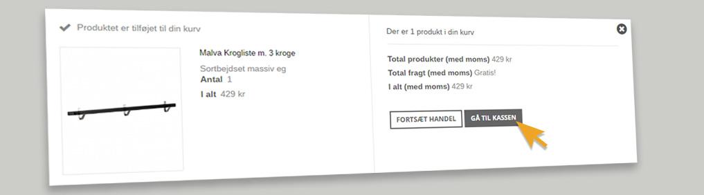 Entremøbel.dk får nyt checkout
