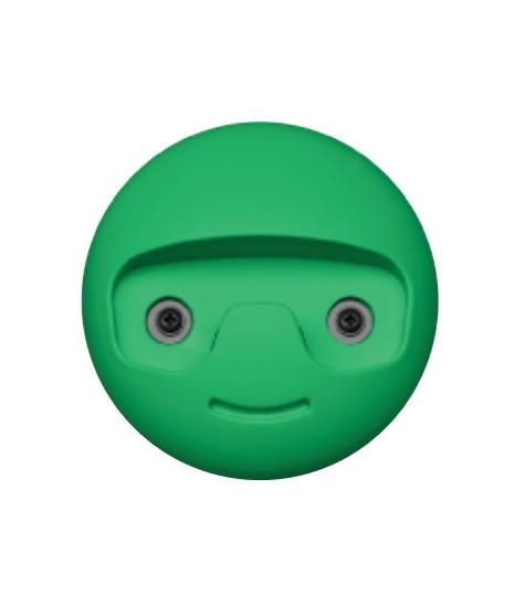 Image of   Young. Sjov knage i grøn