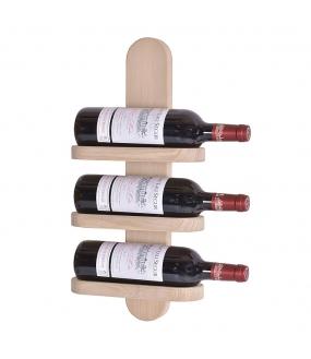 Milano No. 3 vinreol - hvid olie.