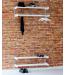 Meja Skohylde 2 hylder - 59cm - Olieret eg - hvidpigmenteret eg - lakeret eg - sortbejdset eg- sort og hvis lak