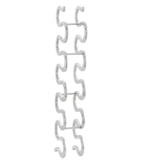 kokoon design Snake vinreol i aluminium fra entremøbel