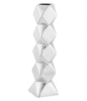 Diamond Vase I Aluminium