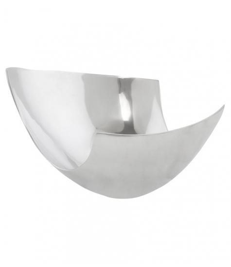Elma skål i aluminium fra kokoon design på entremøbel