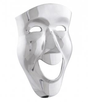 Multu Dekorations Maske I Aluminium