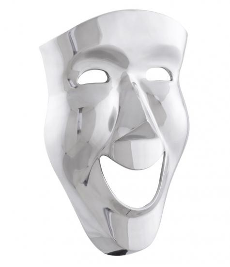 Multu dekorations maske i aluminium fra kokoon design på entremøbel