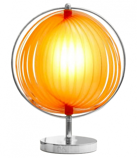 kokoon design Nina small bordlampe - orange fra entremøbel