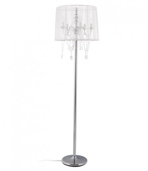 Image of   Lounge Gulvlampe - Hvid