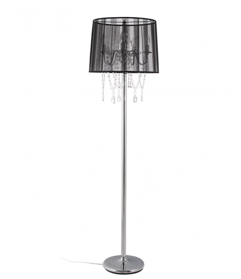 Lounge Gulvlampe Sort