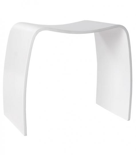 kokoon design – Mitch taburet - hvid fra entremøbel